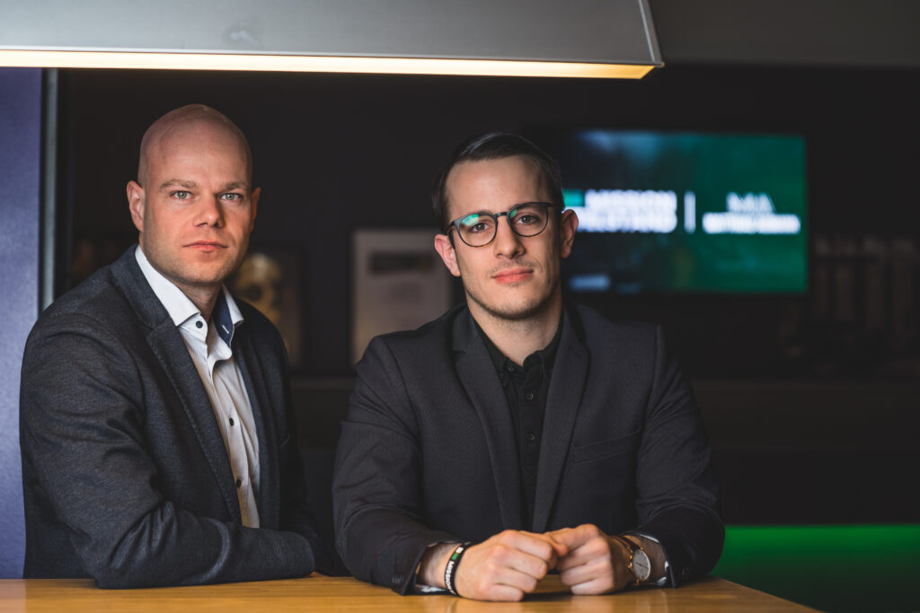 Pascal Lammers und Christoph Wasem